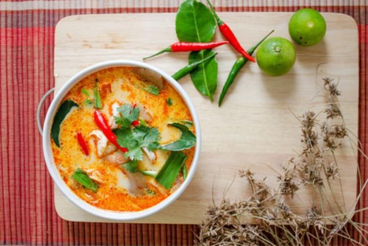 Một món canh chuẩn vị người Thái.