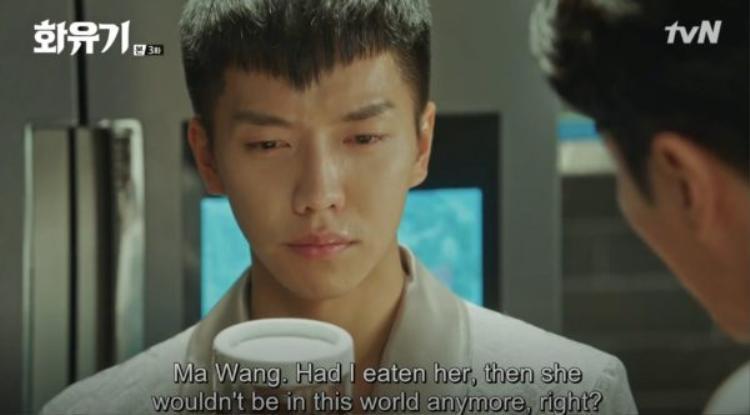 Oh Gong đau lòng khi tưởng tượng ra mình ăn thịt Sun Mi