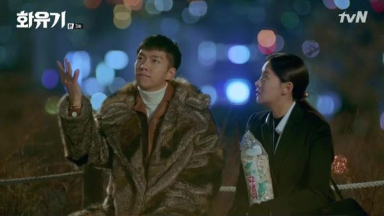 Oh Gong làm phép để bỏng ngô đến được bàn thờ bà ngoại