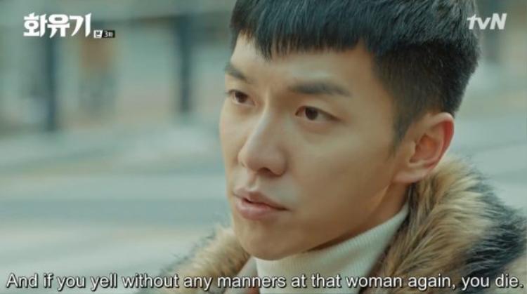 Son Oh Gong cổ vũ Sun Mi đứng lên làm chủ bản thân mình
