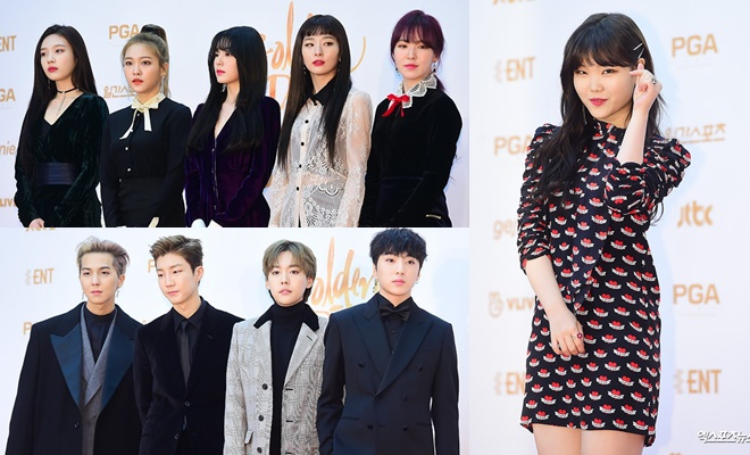 Dàn idol có mặt tại lễ trao giải Golden Disc Awards (GDA) lần thứ 32.