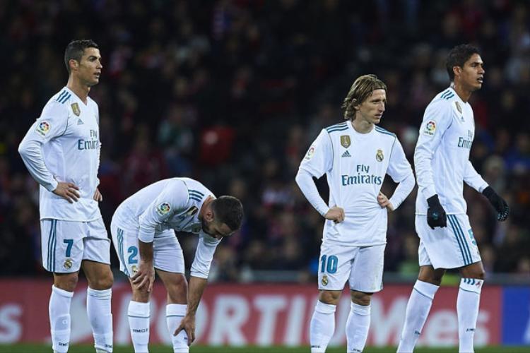 Real không có được thành tích thi đấu tốt trong thời gian qua.