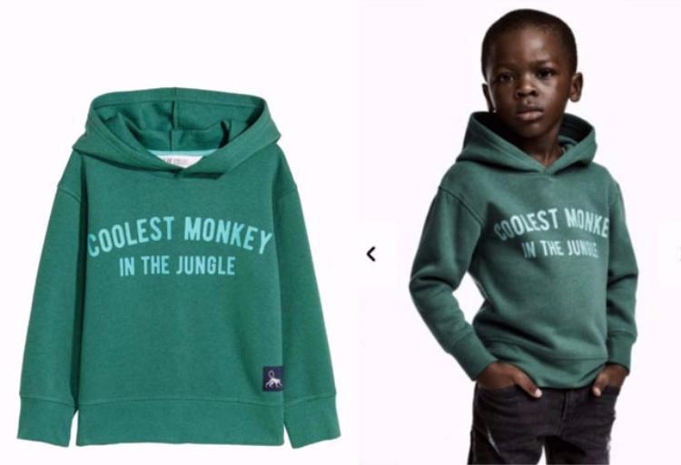Hình ảnh quảng cáo của H&M.