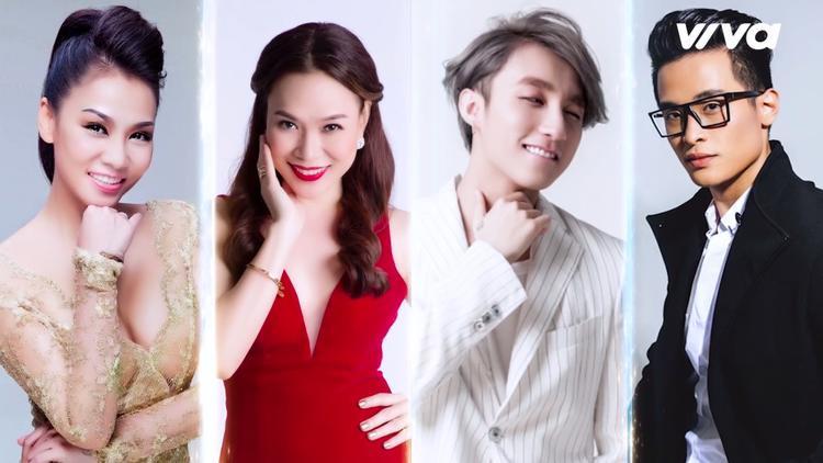 Ali Hoàng Dương lựa chọn Thu Minh, Mỹ Tâm, Hà Anh Tuấn và Sơn Tùng MTP.
