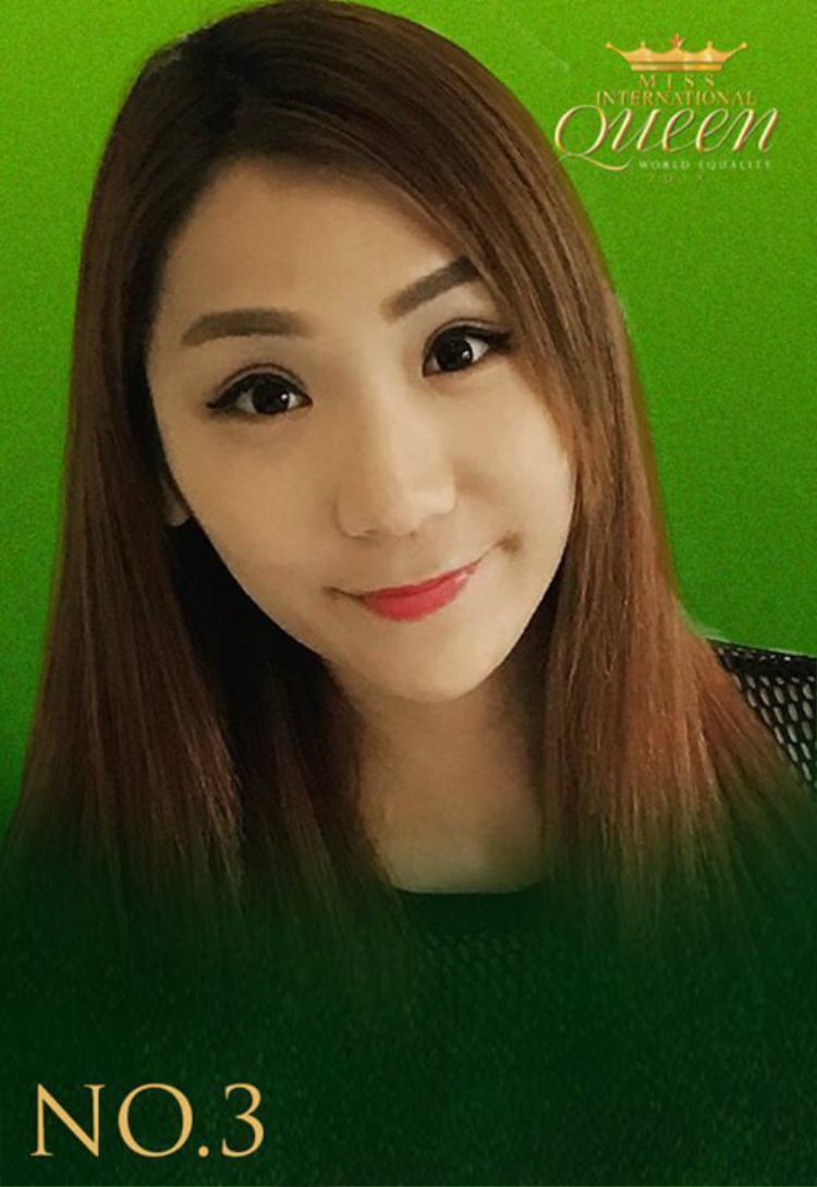 """Thí sinh đến từ Trung Quốc- Ellie Cheng có khuôn mặt như một """"hot girl"""" chính hiệu."""