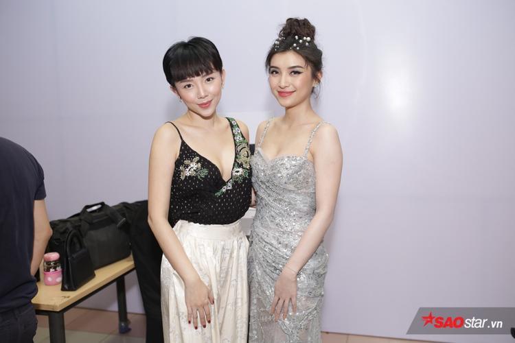 Tóc Tiên khoe sắc bên Tiêu Châu Như Quỳnh.