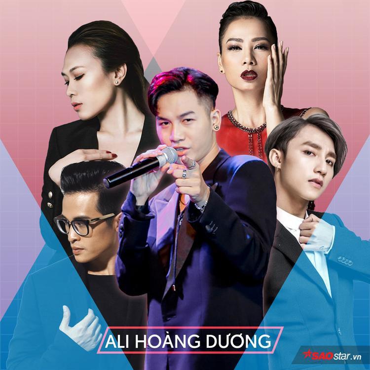 """Ali Hoàng Dương mong muốn Thu Minh, Mỹ Tâm, Sơn Tùng, Hà Anh Tuấn sẽ cầm trịch """"ghế nóng"""" The Voice năm nay."""