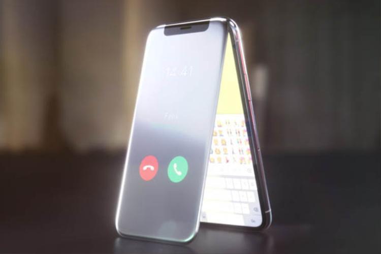 Ở mặt trước, người dùng có một màn hình thứ cấp có khả năng hiển thị các thông tin về cuộc gọi và một số thông tin nhanh khác như thông báo.