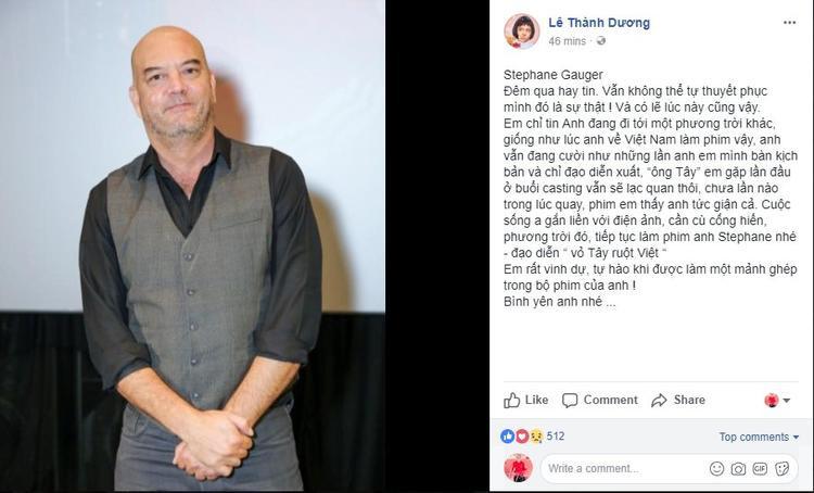 """Ngô Kiến Huy tự an ủi chính mình: """"Em chỉ tin anh đang đi tới một phương trời khác giống như lúc anh về Việt Nam làm phim""""."""