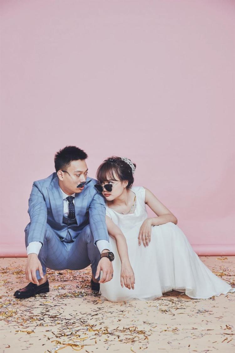 Hình ảnh của Nhật Anh Trắng và cô dâu. Ảnh: FBNV.