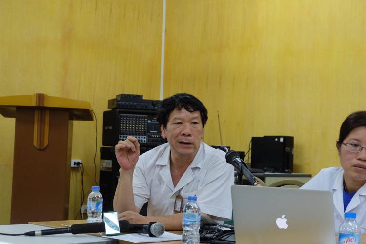 TS. Nguyễn Doãn Phương, Viện trưởng Viện Sức khỏe Tâm thần, Bệnh viện Bạch Mai.