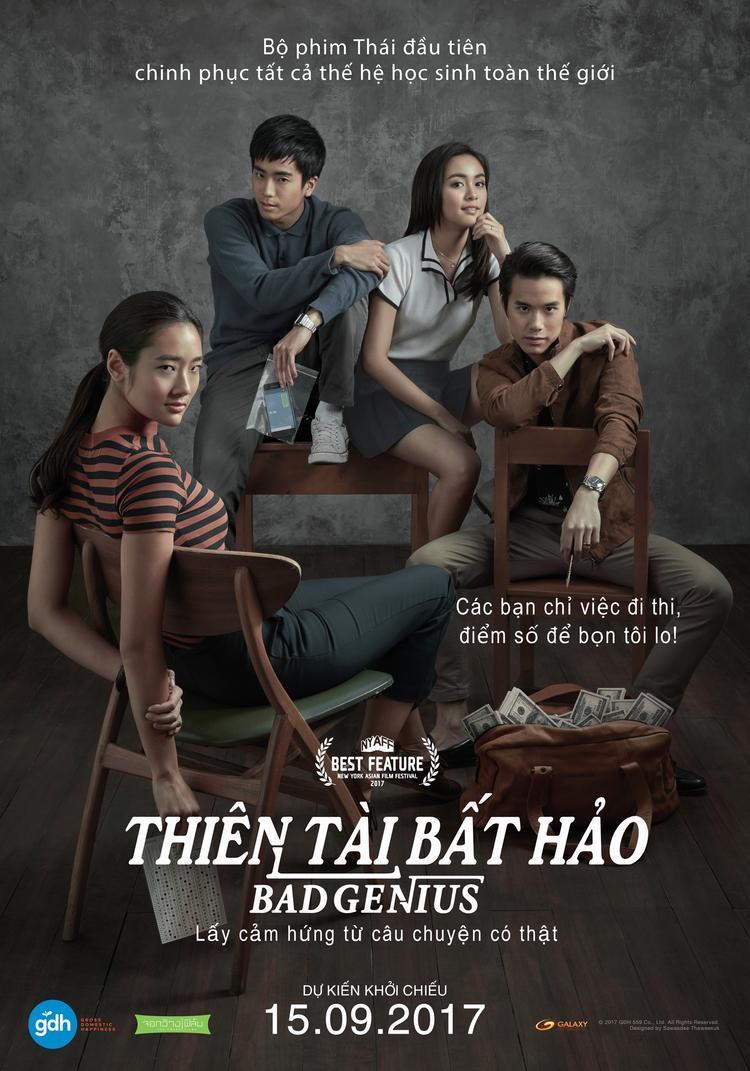 Bad Genius của Thái Lan nhận được 2 đề cử.