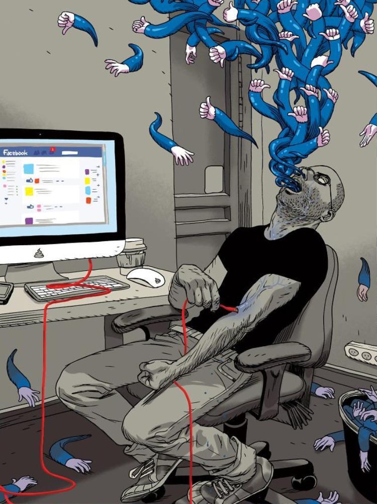 Những nút like Facebook đã trở thành nguồn sống của rất nhiều người