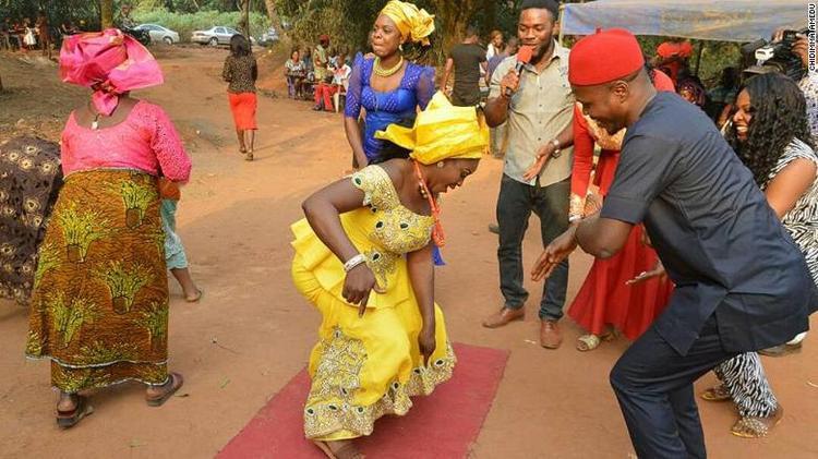 Lễ cưới củaChidimma vàSophy.