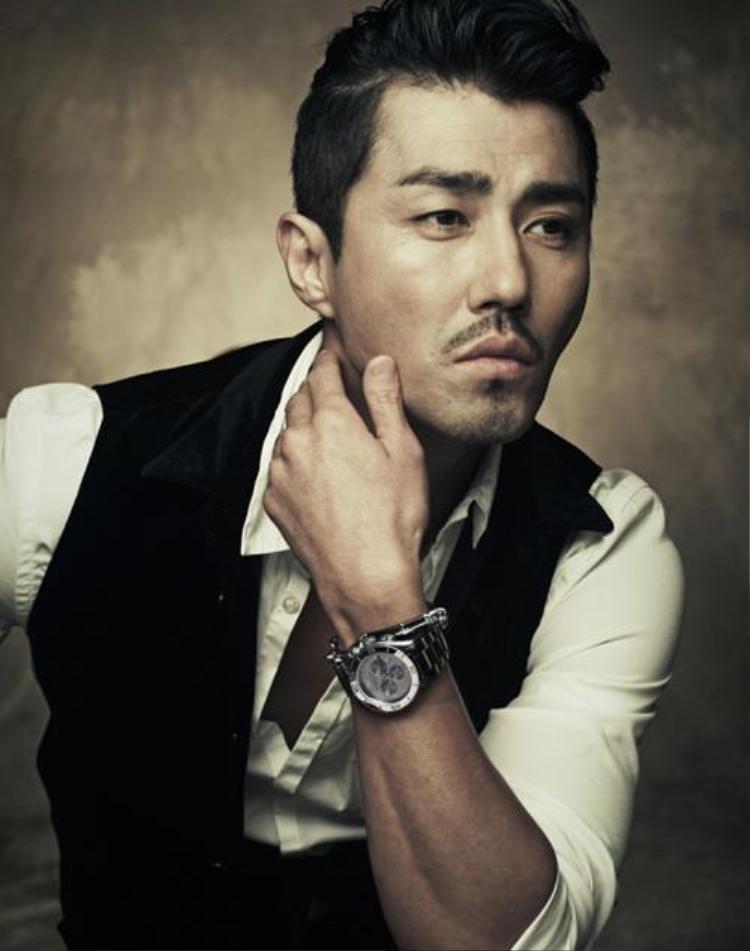 Cha Seung Won được xem là một trong những diễn viên để râu đẹp nhất Châu Á