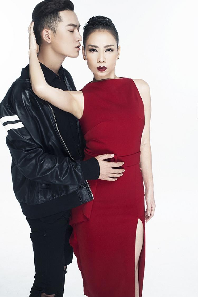 Thu Minh cũng hỗ trợ Ali Hoàng Dương trong những dự án hậu The Voice