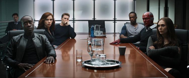 Nhóm Avengers.