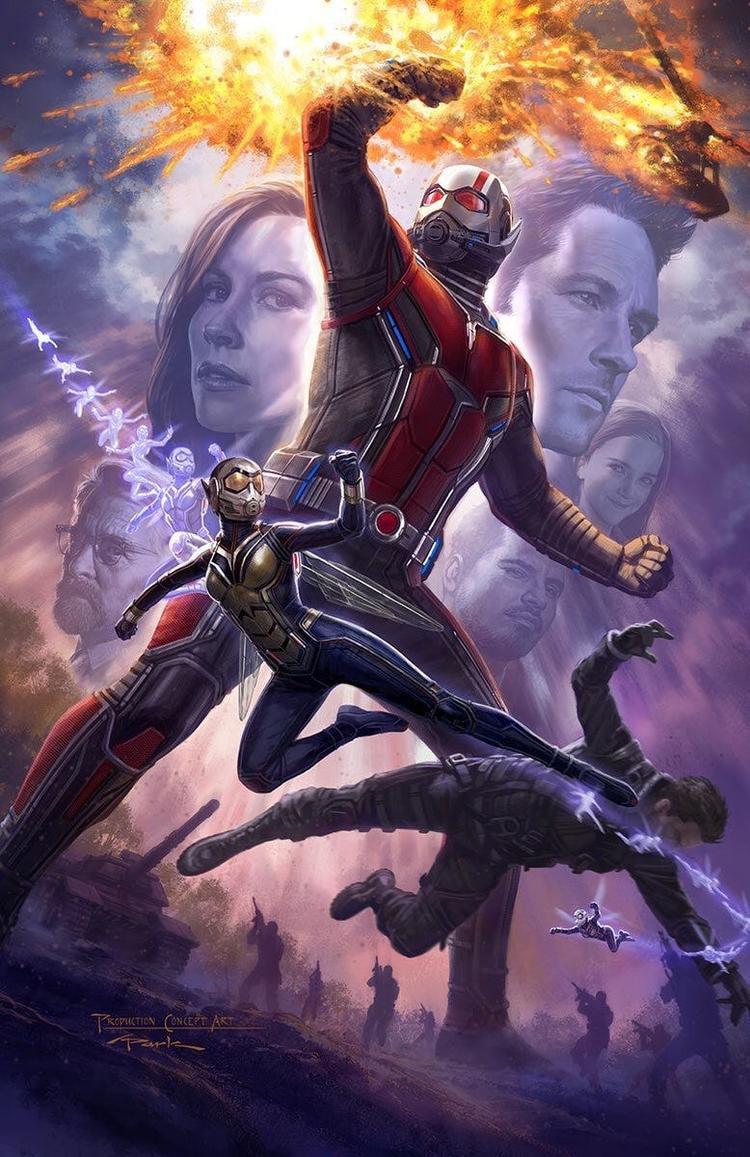 Marvel chính thức giới thiệu trang phục của Ant-Man và Wasp, vẫn chưa thấy bóng dáng trailer