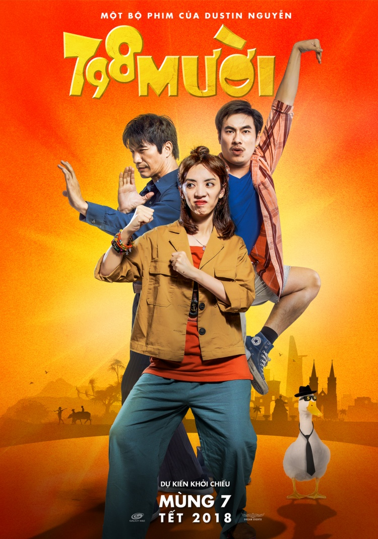 Sau màn cầu hôn thế kỷ, phim Tết của Trường Giang sẽ đối đầu với Hoài Linh, Ngô Thanh Vân