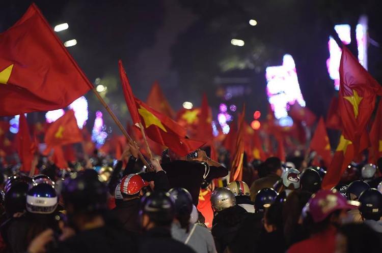 Cảm ơn U23 Việt Nam! Các anh đã biến đêm qua thành một đêm hết sức tuyệt vời với người Việt Nam!