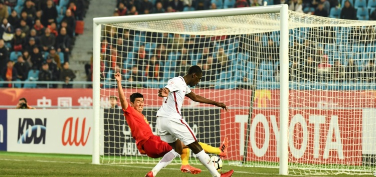 Anh đã ghi bàn vào lưới 3 trong số 4 đội bóng mà U23 Qatar gặp ở VCK U23 châu Á.