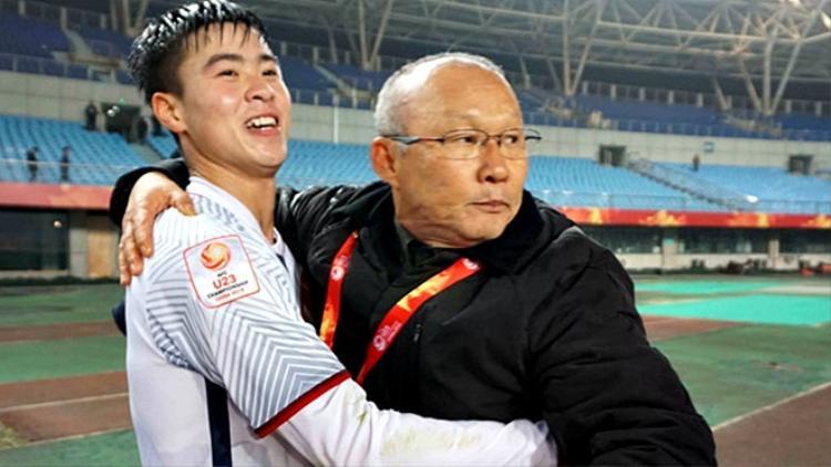 HLV Park Hang Seo lập kỳ tích cùng U23 Việt Nam.
