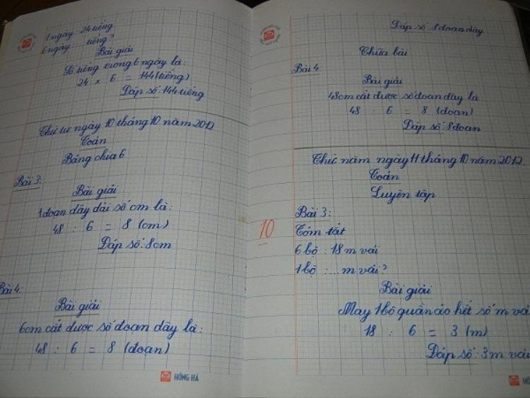 Chữ viết tay siêu đẹp của bé gái 8 tuổi người Việt gây xôn xao trên Reddit