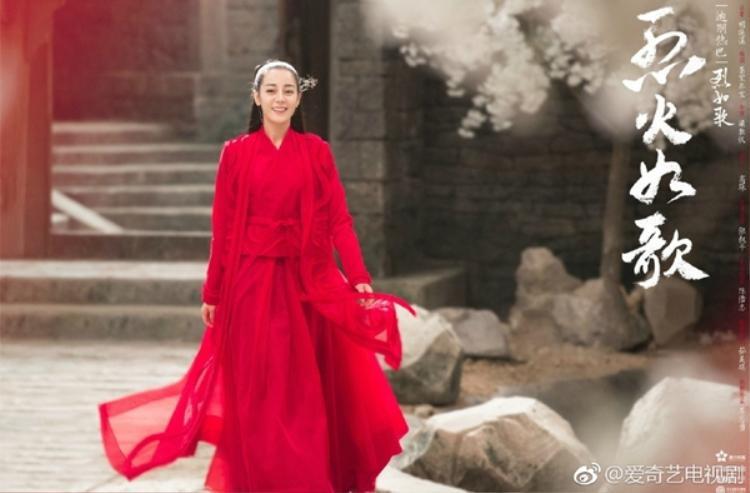 Địch Lệ Nhiệt Ba được nhà đài ưu ái hơn Quan Hiểu Đồng, phim mới được phát sóng ngay khung giờ vàng?