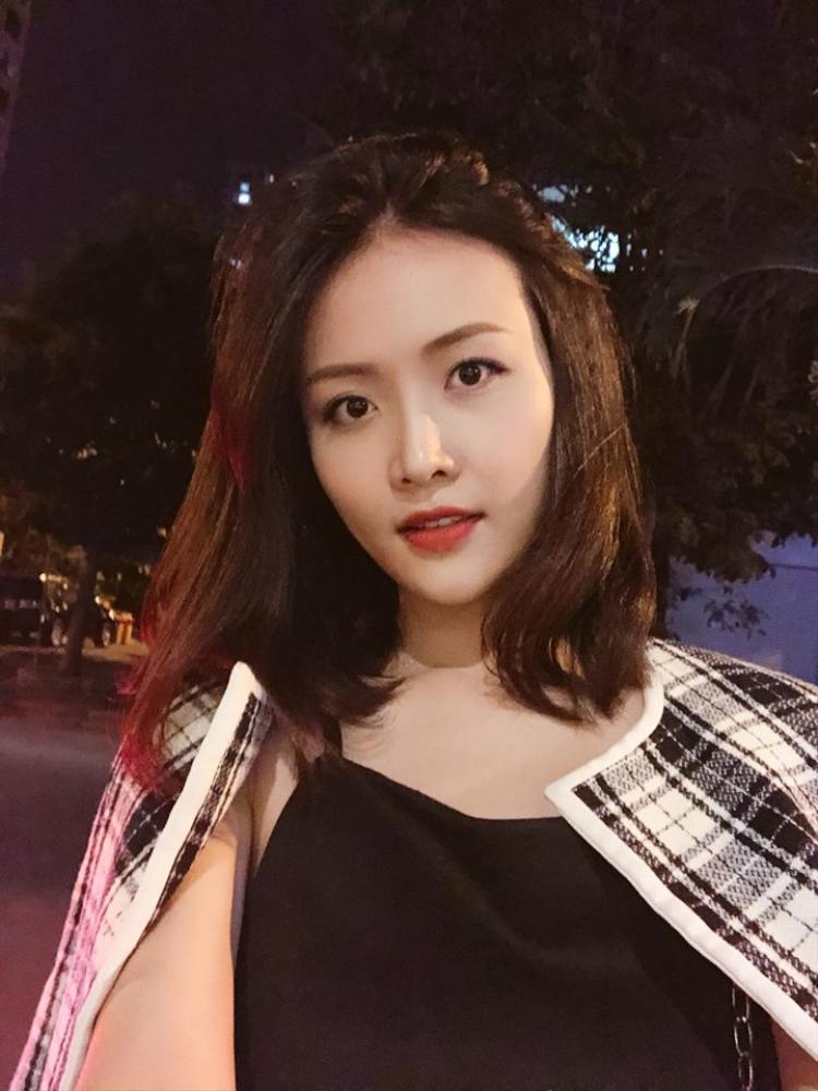Hình ảnh mới nhất của Trương Mỹ Nhân được người đẹp chia sẻ trên trang cá nhân.