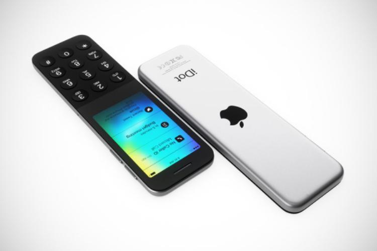 """Mặt lưng chiếc máy này có logo Apple. iDot nhìn chung mang trên mình nhiều đường nét khiến người ta có thể nhớ ngay đến một thiết bị cộp mác """"táo khuyết""""."""