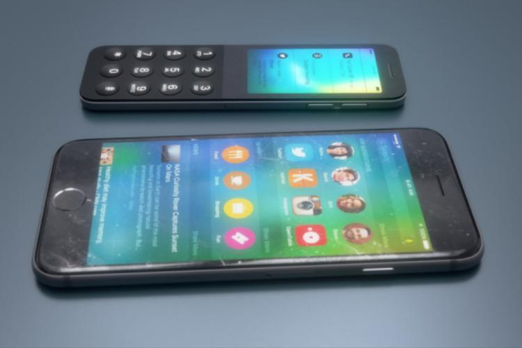 Cạnh phải chiếc điện thoại này có nút tăng giảm âm lượng theo. Mặc dù không chia sẻ nhưng quan sát cho thấy nhiều khả năng chiếc iDot cũng có thân máy cấu thành từ nhôm nguyên khối.