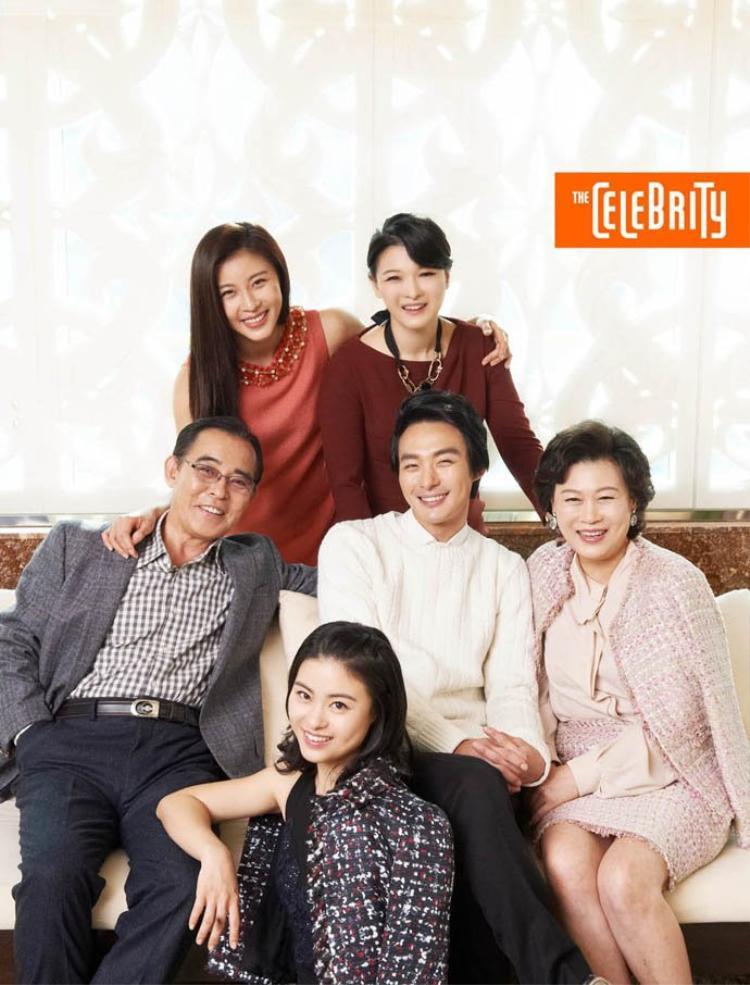 Gia đình của Jeon Tae Soo và Ha Ji Won.