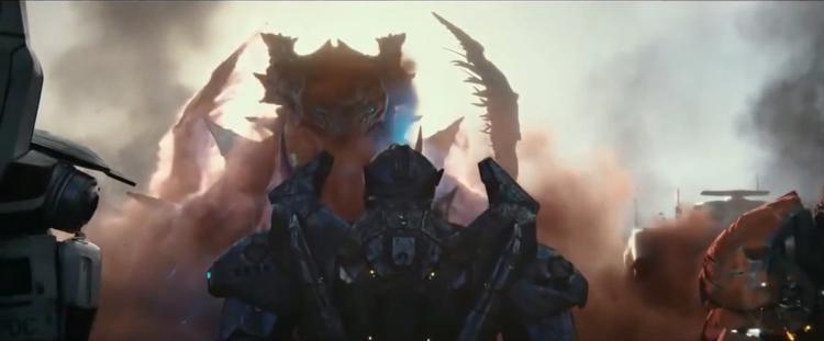 Trận chiến giữa Kaiju và Jaeger kịch tính hơn.