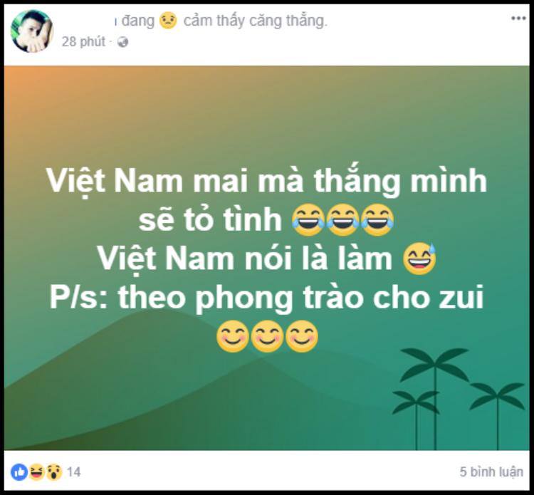 'Cho zui' thôi chứ không làm thật?