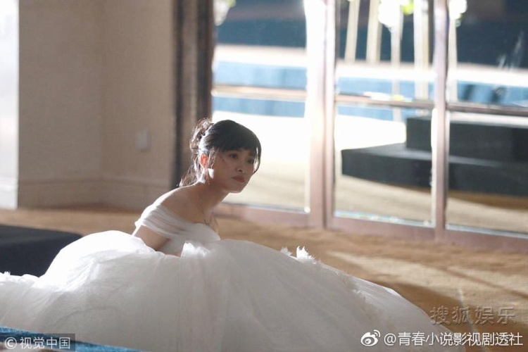 Dân mạng hú hét khi ngắm Thẩm Nguyệt mặc váy cưới trong Tân Vườn sao băng