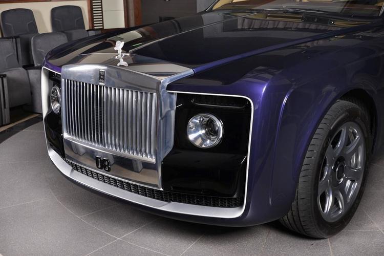 Được biết, hãng xe Anh Quốc này cần đến 4 năm để hoàn thành mẫu Rolls-Royce Sweptail.