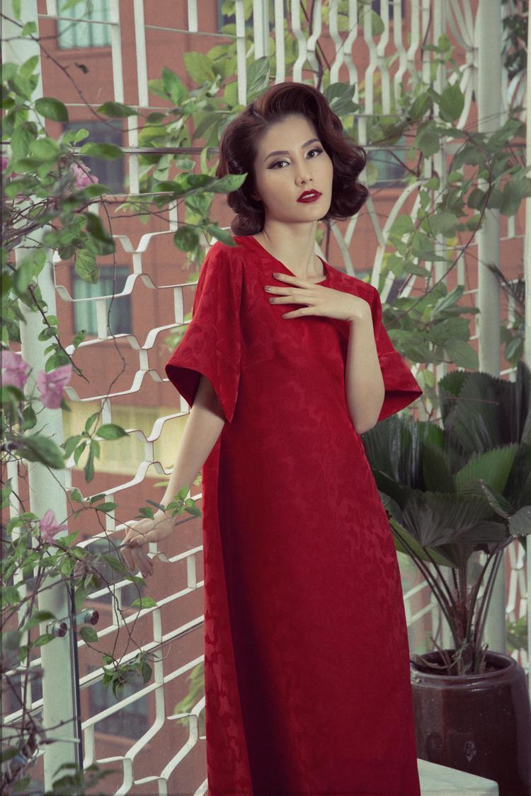 Các thiết kế phom dáng suông, tay lỡ đem lại cho người mặc sự thoải mái.