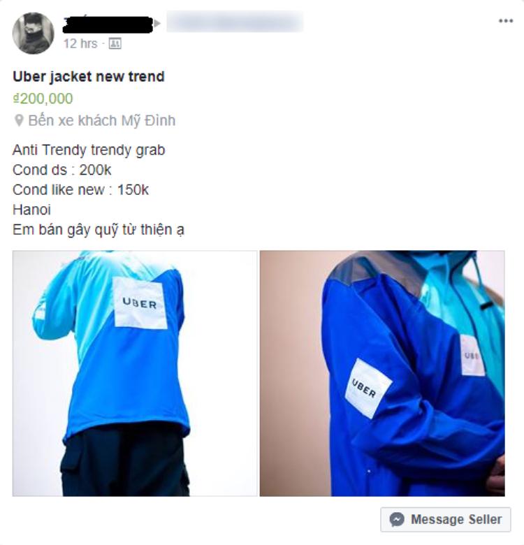 """Có người tranh thủ bán để """"gây quỹ từ thiện"""", thậm chí còn cả áo mới và đã sử dụng qua."""