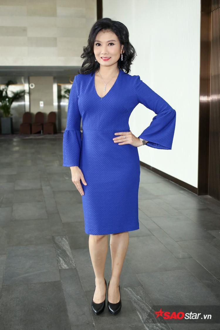 Tháng năm rực rỡ mang đến sự trở lại của nữ diễn viên Mỹ Uyên.