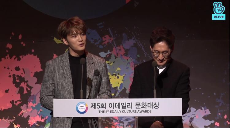Minh Hằng rạng rỡ tại E-Daily Culture Award, nói tiếng Hàn vô cùng đáng yêu