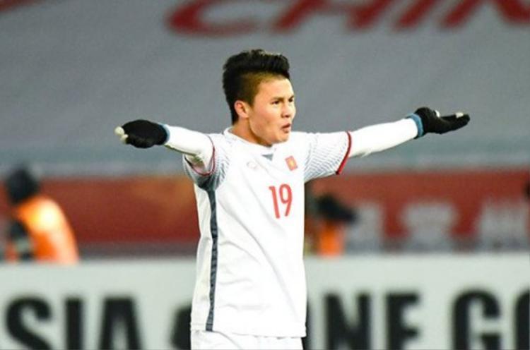 Quang Hải - một trong những cầu thủ xuất sắc của bóng đá Việt Nam.