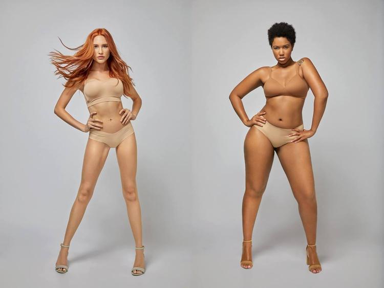 Liberty (trái) về nhất tuần 3 và Ivana (phải) là thí sinh bị loại.