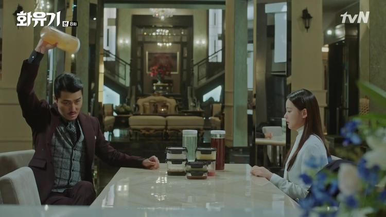 Hwi Chul tiết lộ choo Sun Mi biết Oh Gong đã làm nước chấm để thịt cô