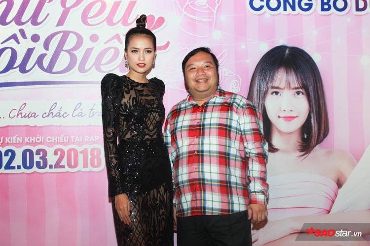 Đạo diễn Nguyễn Hà và Ngọc Châu.
