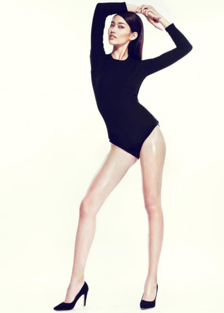 Xuất thân là một người mẫu High-fashion nên hình thể của cô khá mảnh mai. Tuy nhiênbất cứ chàng trai nào khi ngắm Quỳnh Châu trong những bộ hình bikini cũng sẽ cảm thấy rung động trước vẻ đẹp của cô.