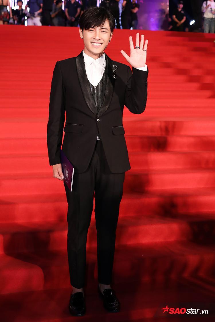 Ca sĩ/diễn viên Gin Tuấn Kiệt.