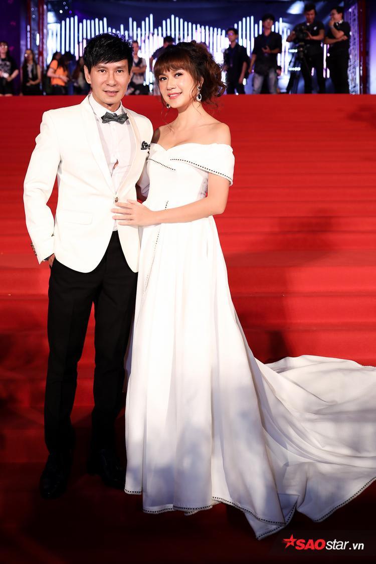Vợ chồng ca sĩ Lý Hải - Minh Hà.