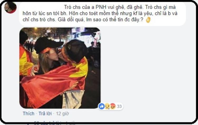 Hotboy Phí Ngọc Hưng tiếp tục để lộ ảnh hôn cô gái mà anh chàng từng khẳng định chỉ là bạn