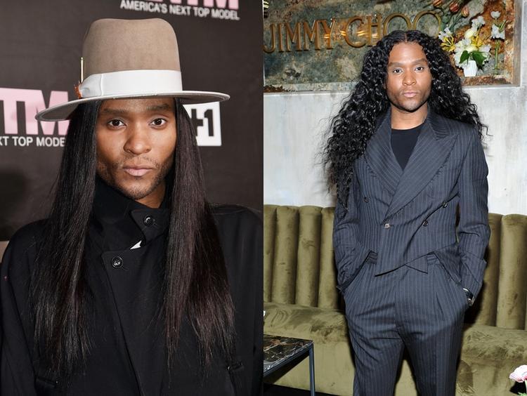 Stylist của những ngôi sao hàng đầu Hollywood - Law Roach luôn xuất hiện với mái tóc dài.