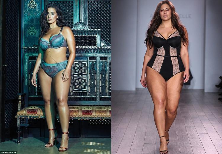 Giám khảo Ashley Graham cũng từng chịu không ít áp lực khi là siêu mẫu nổi tiếng sở hữu thân hình ngoại cỡ.